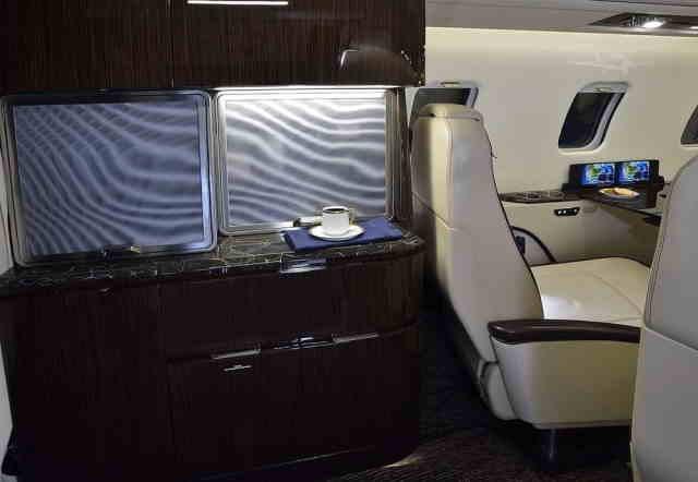 бизнес джет Learjet 75 в России