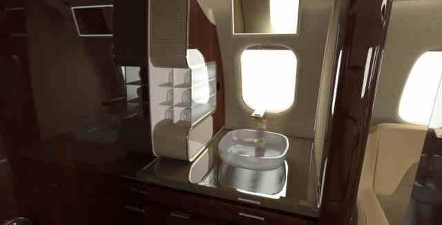 перелет самолетом Learjet 85