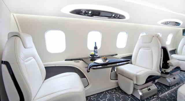 фото частного самолета Learjet 85