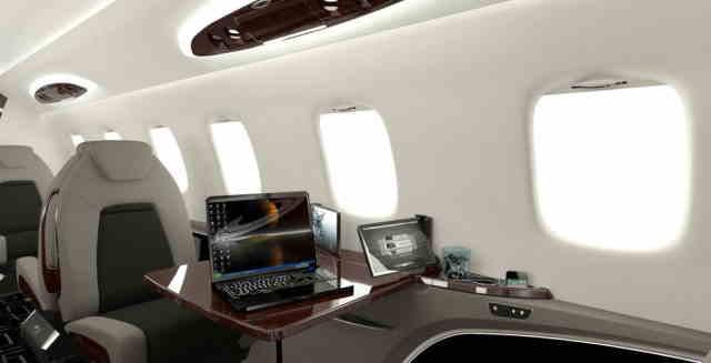 бизнес джет Learjet 85 в России