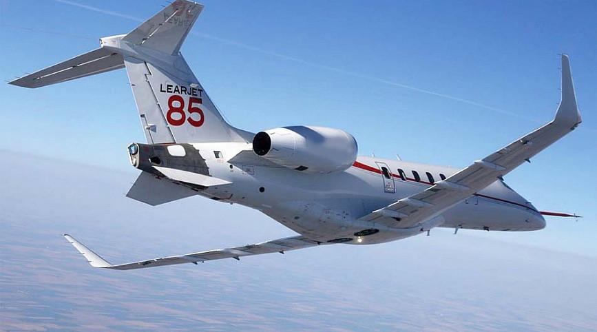 самолет Learjet 85