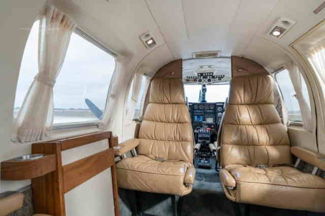 фото частного самолета Piper PA31 Navajo