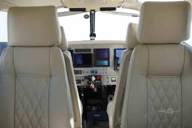 перелет самолетом Piper PA34 Seneca