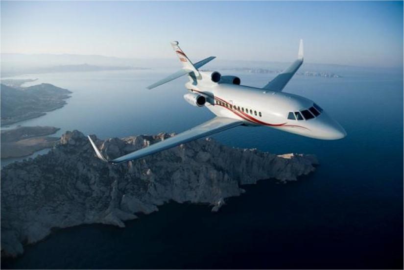 самолет Dassault Falcon 900 LX