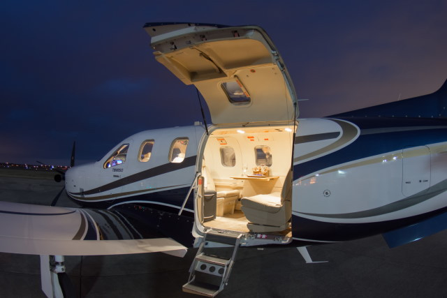 фото частного самолета Daher Socata TBM 850