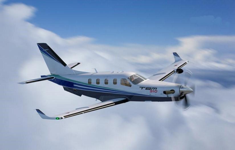 самолет Daher Socata TBM 910