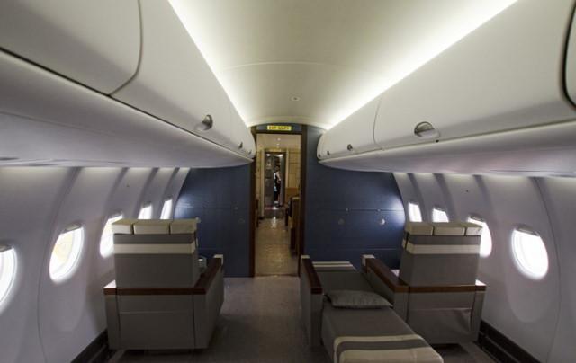 перелет самолетом Sukhoi Business Jet
