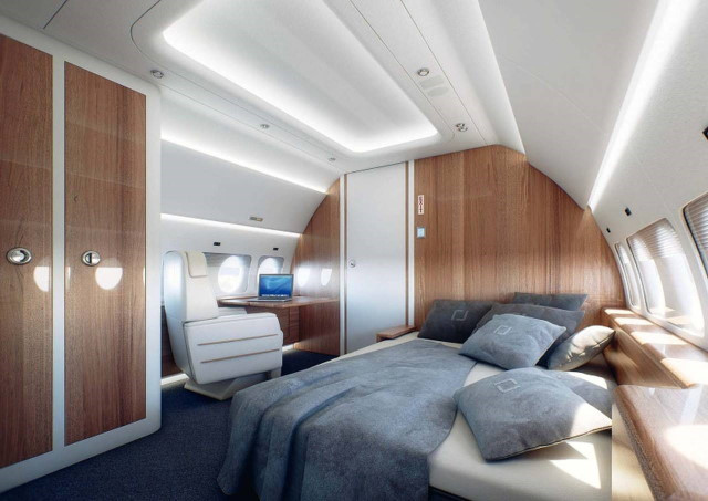 аренда самолета Sukhoi Business Jet