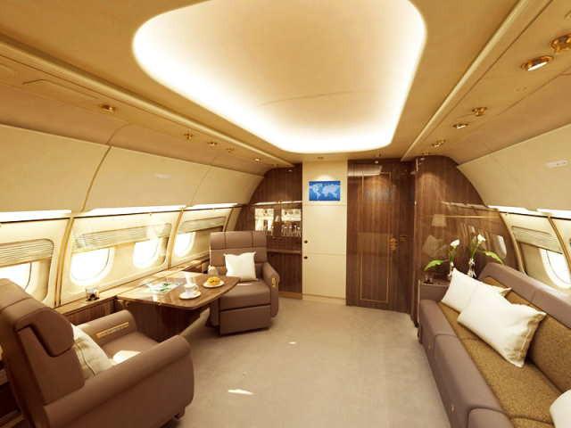 аренда самолета Airbus A318 Elite