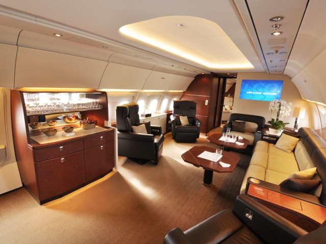 арендовать бизнес джет Airbus A318 Elite