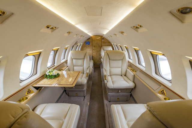 арендовать бизнес джет Beechcraft Hawker 1000