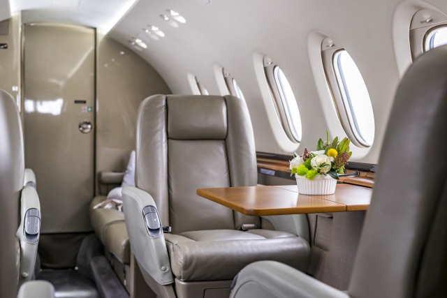 арендовать бизнес джет Beechcraft Hawker 750