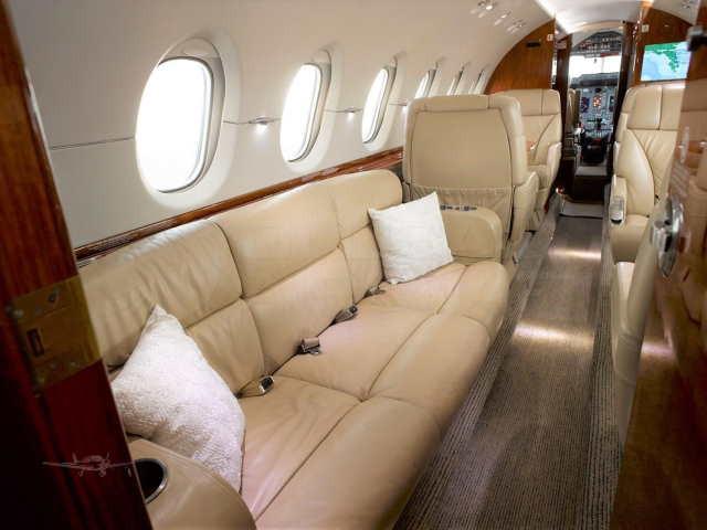 фото частного самолета Beechcraft Hawker 900 XP