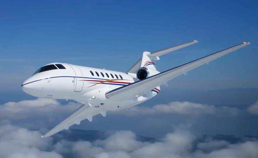 самолет Beechcraft Hawker 750