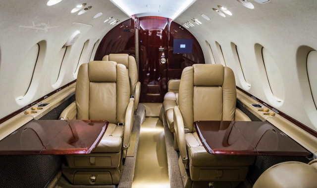 бизнес джет Beechcraft Hawker 750 в России