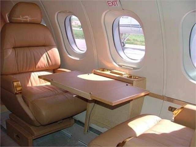 бизнес джет Beechcraft Hawker 700 в России