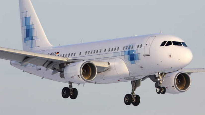 самолет Airbus A319 CJ