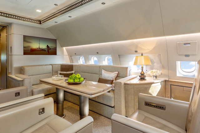 фото частного самолета Airbus A319 CJ