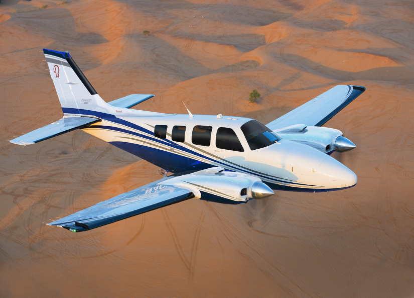 самолет Beechcraft Baron 58