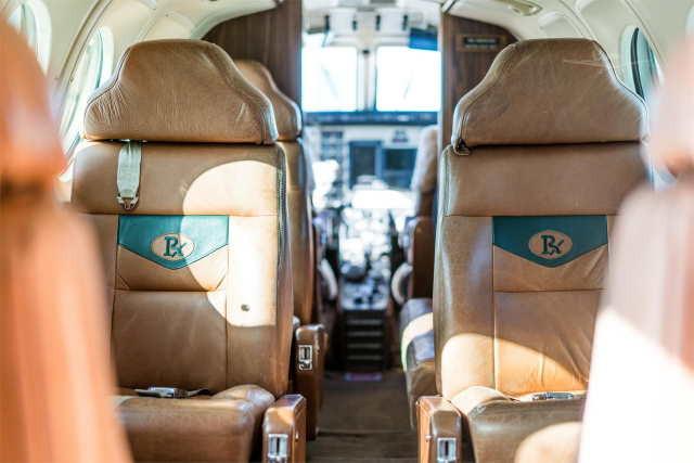 бизнес джет Beechcraft King Air 100 в России