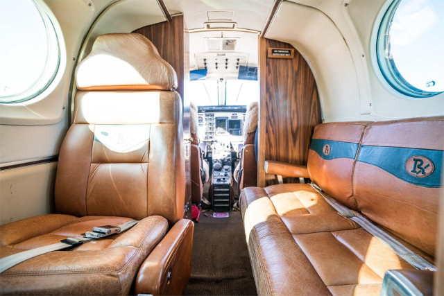 арендовать бизнес джет Beechcraft King Air 100