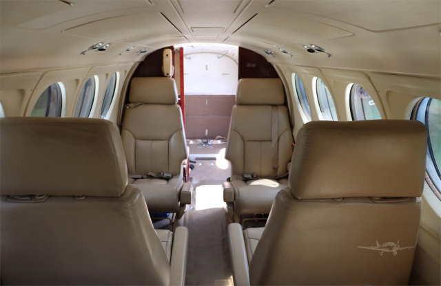 перелет самолетом Beechcraft King Air 200