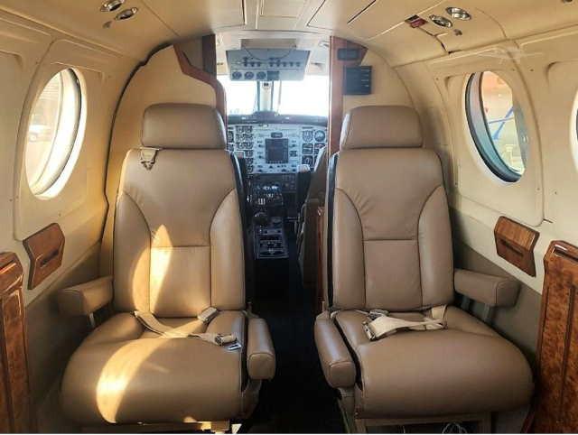 арендовать бизнес джет Beechcraft King Air 200