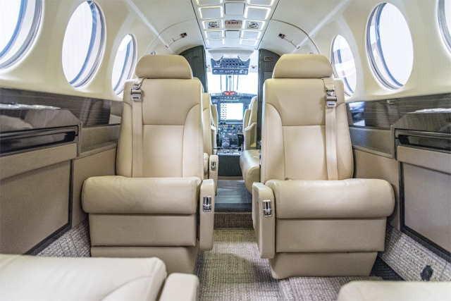 бизнес джет Beechcraft King Air 300 в России