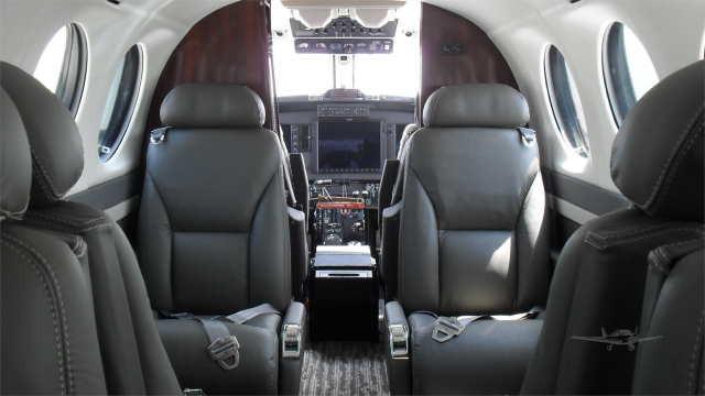 перелет самолетом Beechcraft King Air 350