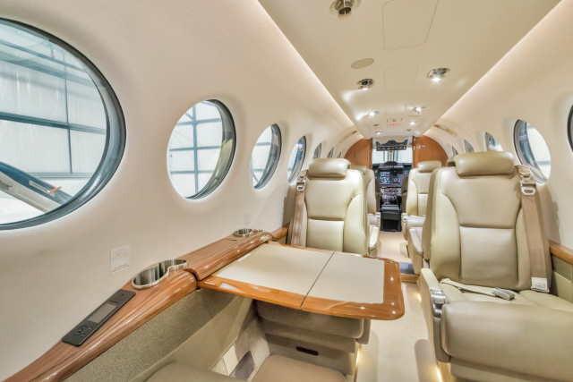 фото частного самолета Beechcraft King Air 350