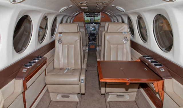 бизнес джет Beechcraft King Air 350 в России