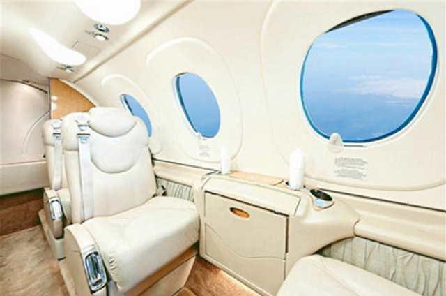 перелет самолетом Beechcraft Premier I