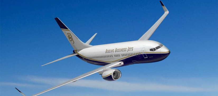 самолет Boeing Business Jet (BBJ)