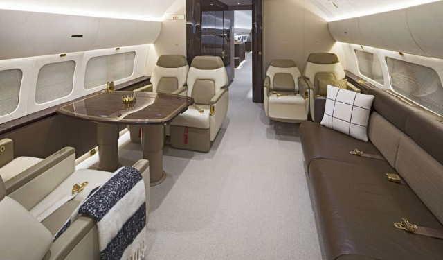 перелет самолетом Boeing Business Jet 2