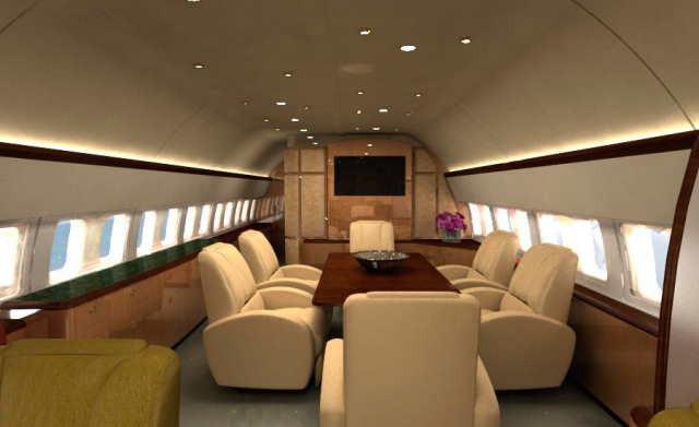 фото частного самолета Boeing Business Jet 2
