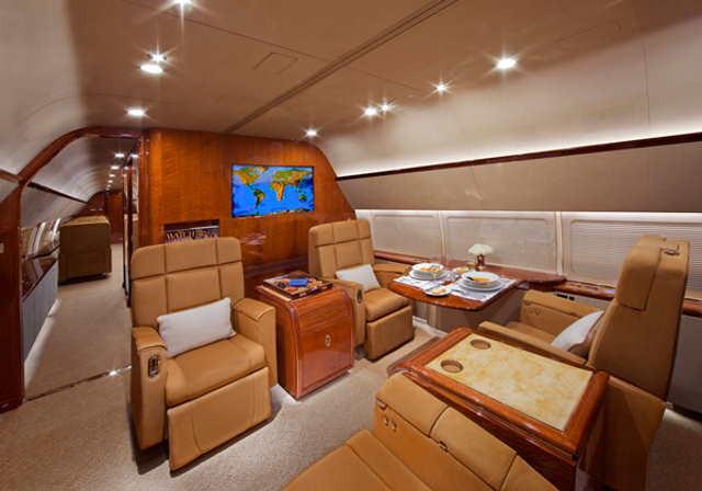 аренда самолета Boeing Business Jet 2