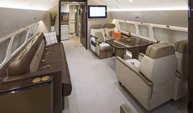 бизнес джет Boeing Business Jet 2 в России