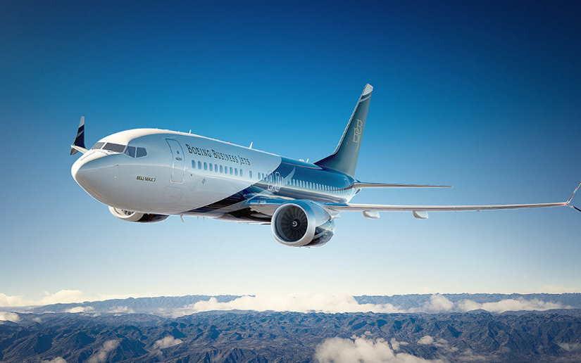 самолет Boeing Business Jet 3