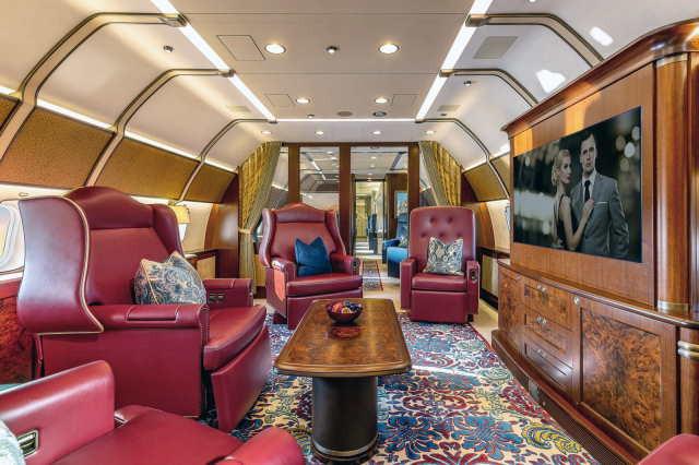 аренда самолета Boeing Business Jet 3