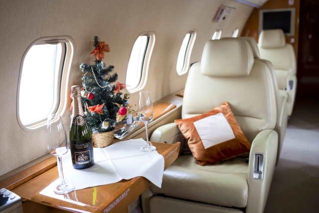 фото частного самолета Bombardier Challenger 300