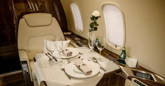 перелет самолетом Bombardier Challenger 350