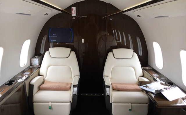 фото частного самолета Bombardier Challenger 350