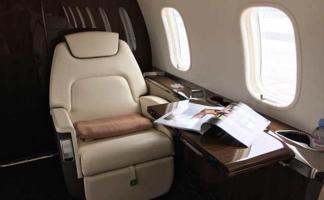 бизнес джет Bombardier Challenger 350 в России