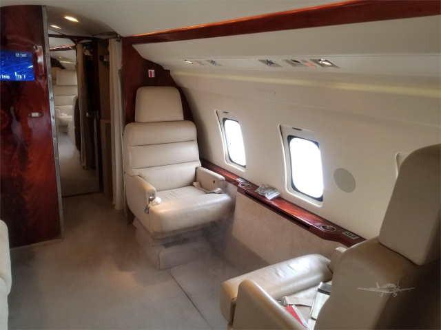 фото частного самолета Bombardier Challenger 600