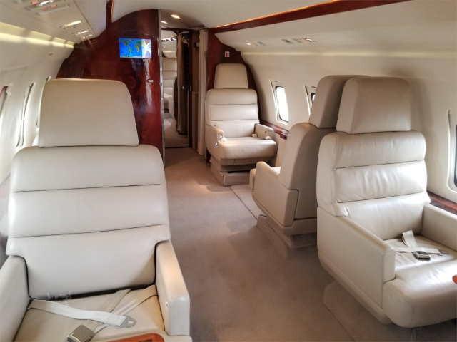 бизнес джет Bombardier Challenger 600 в России