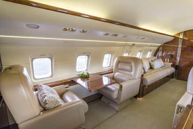бизнес джет Bombardier Challenger 601 в России