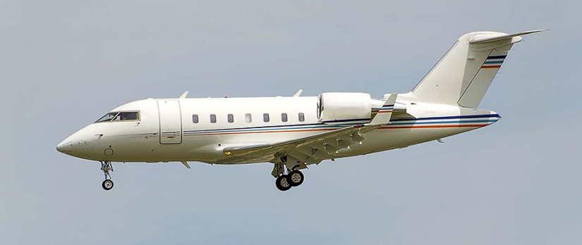 самолет Bombardier Challenger 605