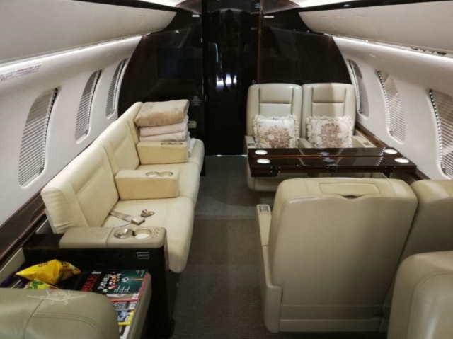 перелет самолетом Bombardier Challenger 605