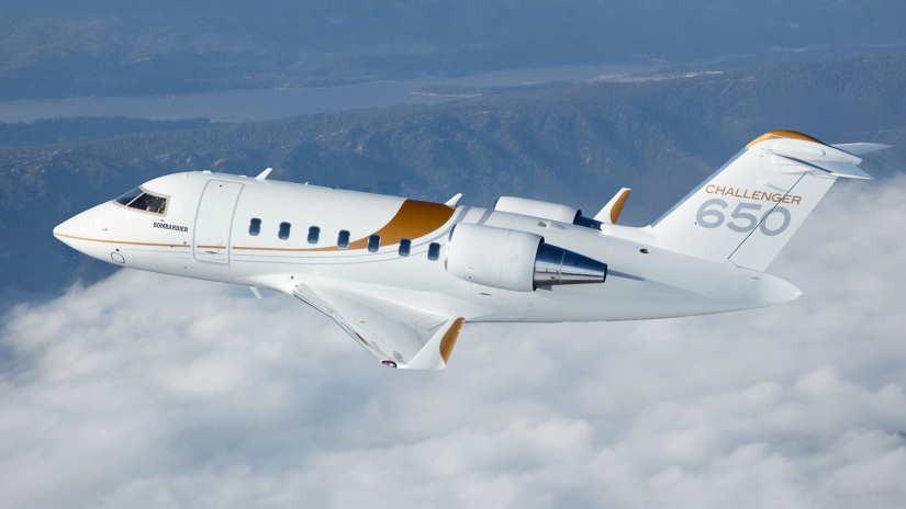 самолет Bombardier Challenger 650