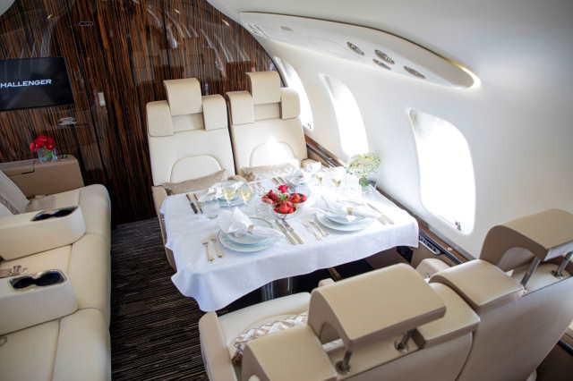 перелет самолетом Bombardier Challenger 650